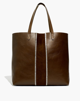Madewell The Transport Tote: Suede Inset Edition