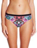 Nanette Lepore Women's Bali Batik Charmer Bikini Bottom