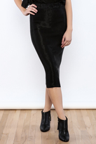 Babel Fair Shiny Pencil Skirt