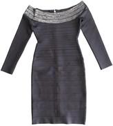 Herve Leger Anthracite Dress for Women