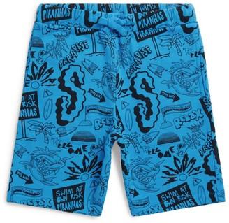 Stella McCartney Piranha Print Shorts
