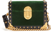 Prada Treasure Trunk mini velvet box bag