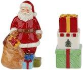 Spode Christmas Tree Santa & Gift Boxes Salt & Pepper Shakers