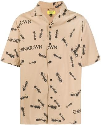 Chinatown Market Ant Print Short-Sleeve Shirt