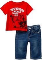 True Religion Hitch Hiking Buddha & Jean 2-Piece Set (Baby Boys)