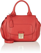 Trussardi WOMEN'S FLAP-FRONT SHOULDER BAG-RED