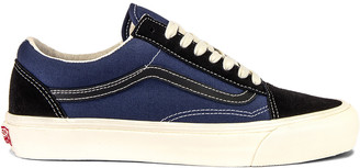 Vans OG Old Skool LX in Black & Insignia Blue | FWRD