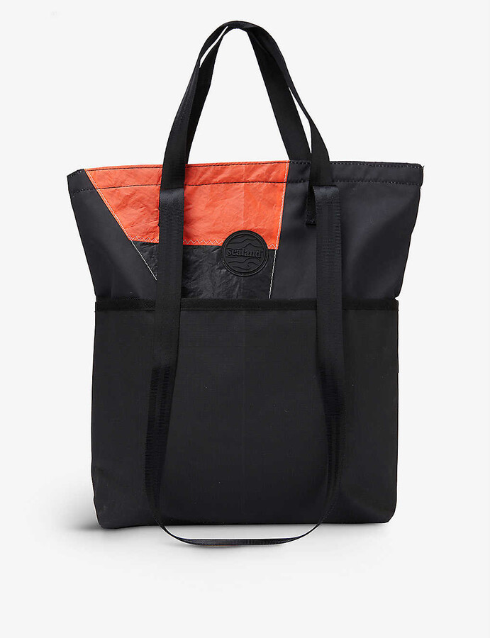 Thumbnail for your product : Sealand Upcycled Swish upcycled-woven tote bag