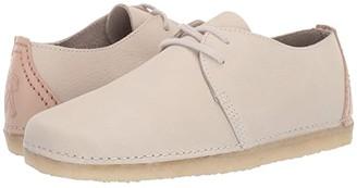 Clarks Ashton (Off-White Nubuck) Women's Shoes