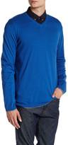Zadig & Voltaire Ginger Long Sleeve V-Neck Pullover
