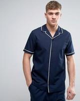 Asos Woven Pajama Shirt