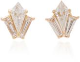 Doryn Wallach Dorothy Baguette Diamond Stud Earrings