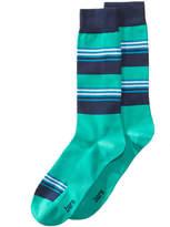 Bar III Men's Blocked Striped Socks, Created for Macy's
