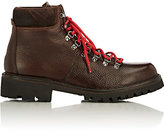 Barneys New York MEN'S GRAINED LEATHER HIKING BOOTS