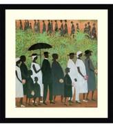 Amanti Art Funeral Procession Framed Art Print