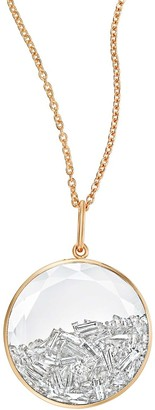 Moritz Glik 18kt Yellow Gold Diamond Shaker Pendant Necklace