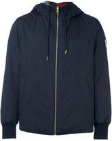 Moncler Gamme Bleu reversible hooded jacket - men - Cotton/Feather Down/Nylon/Polyamide - 2