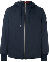 Moncler Gamme Bleu reversible hooded jacket - men - Cotton/Feather Down/Nylon/Polyamide - 4
