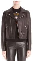 Loewe Women's Leather Moto Jacket