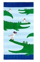 Pottery Barn Kids Alligator Mini Beach Towel