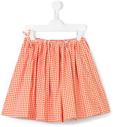 Marni checked full skirt - kids - Cotton - 14 yrs