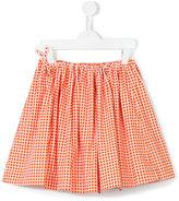 Marni checked full skirt
