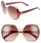 Chloé Women's Misha 59Mm Gradient Round Retro Sunglasses - Gradient Black