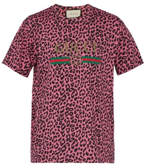 f895db30ea36 Mens Leopard Print T Shirt - ShopStyle Canada