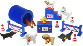 Orange Tree Toys Puppy Collection Best In Show wooden play set