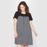 Taillissime Monochrome Print Tunic Dress