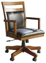 Signature Design by Ashley Lobink Home Office Desk Chair Brown (Set of 1)