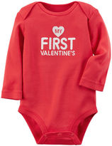Carter's My First Valentine's Day Collectible Bodysuit