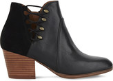 Aldo Montasico leather and suede ankle boots