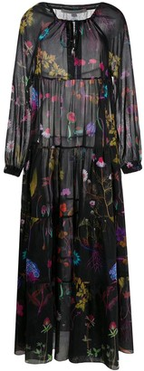 Stella McCartney Floral Print Long Dress