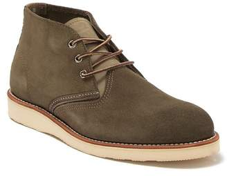 Red Wing Shoes Suede Work Chukka Boot