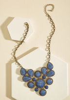 ModCloth Enlighten the Mood Necklace in Midnight Blue