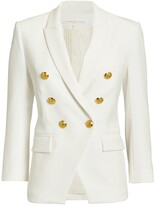 Thumbnail for your product : Veronica Beard Empire Double-Breasted Blazer