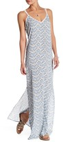 Love Stitch Crochet Racerback Maxi Dress