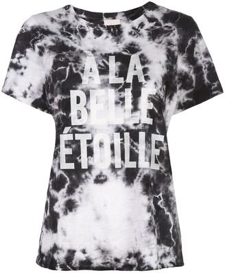 Cinq à Sept A La Belle Etoile printed tie-dye T-shirt