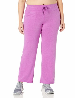 Fruit of the Loom Fit for Me Women's Plus Size Dual Face Sweatpant