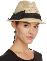 Kate Spade Crochet Packable Fedora
