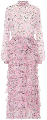 Giambattista Valli Floral silk dress
