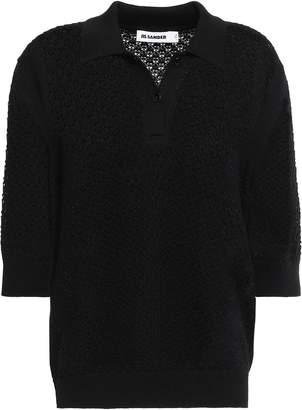 Jil Sander Open-knit Wool Top