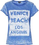 Topshop Venice Beach Burnout Tee