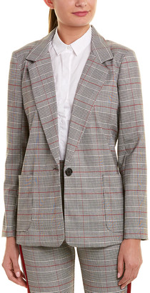 Lavender Brown Suit Jacket