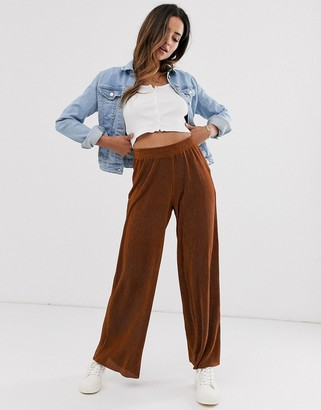 B.young loose fit trousers