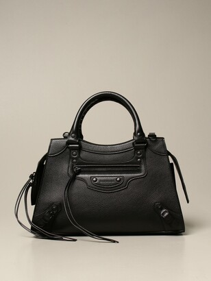 Balenciaga Neo Classic City S Bag In Grained Leather