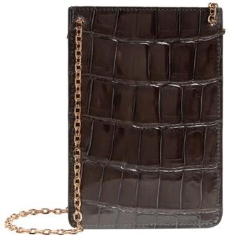 Analeena Crocodile Phone Bag