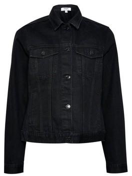 Dorothy Perkins Womens Black Organic Cotton Denim Jacket, Black