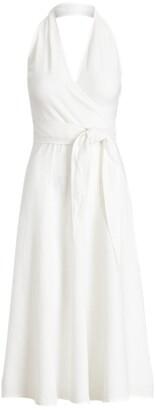 Ralph Lauren Linen Halter Dress